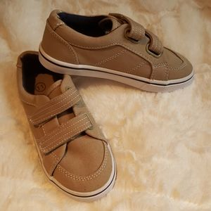 NWOT - Boys Khaki Canvas Sneakers